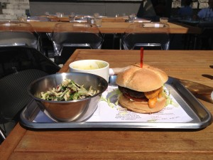 OMG Burger Plate