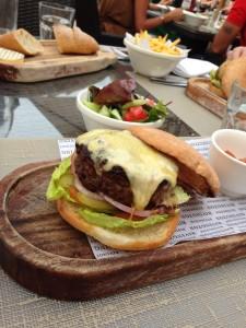 Rivington Burger Close-Up