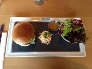Bystro Burger Top View
