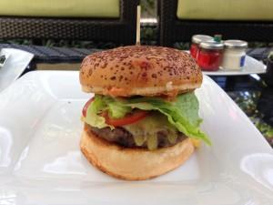 Cabana Burger Alone