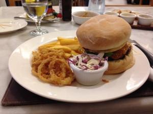 Dagwood Burger Plate