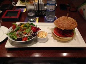Double Decker Beef Burger