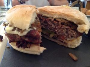 St Tropez Gourmet Burger Inside View