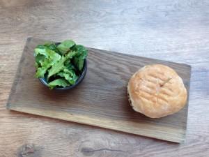 Taste Kitchen Burger Top View