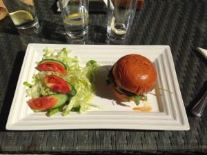 Nofara Wagyu Burger Full Plate