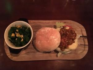 Nola Burger Full Plate
